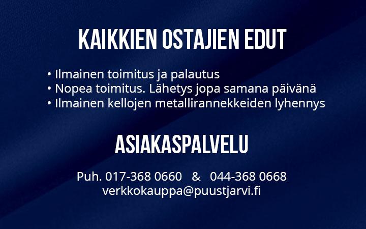 Laatumerkkien korut netistä - Puustjärven kello ja kulta ff5b028584