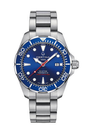 Certina DS Action Diver Powermatic 80 miesten rannekello - Certina miesten rannekellot - C0324071104100 - 1