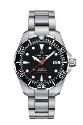 Certina DS Action Diver Powermatic 80 miesten rannekello - Certina miesten rannekellot - C0324071105100 - 1