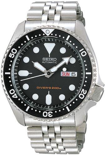 Seiko Automatic Diver s sukelluskello metallirannekkeella SKX007K2 SKX007K2  - Puustjärven kello ja kulta verkkokauppa e8a7962154