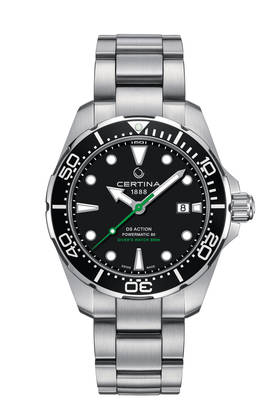 Certina DS Action Diver Powermatic 80 miesten rannekello - Certina miesten rannekellot - C0324071105102 - 1