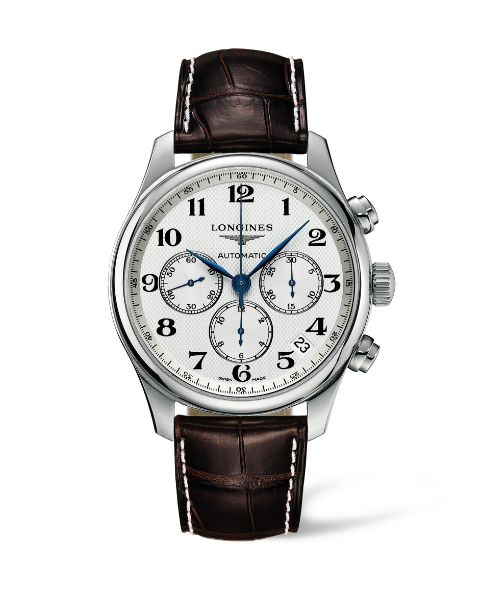 Longines Master Collection Chronograph Automatic 44mm miesten rannekello  L26934783 - Longines miesten rannekellot - L26934783 - 82f341a7bd