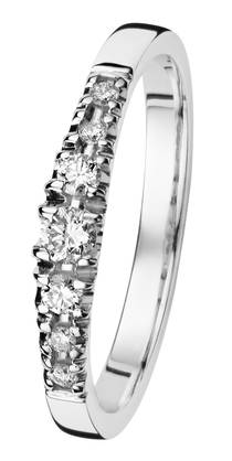 Kohinoor Cristal 033-244V-18 timanttisormus 0 6f5a06cc46