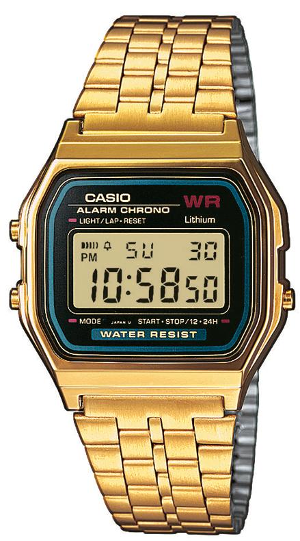 Casio Retro kultadublee rannekello A159WGEA-1EF - Puustjärven kello ... b1b46bfcfa