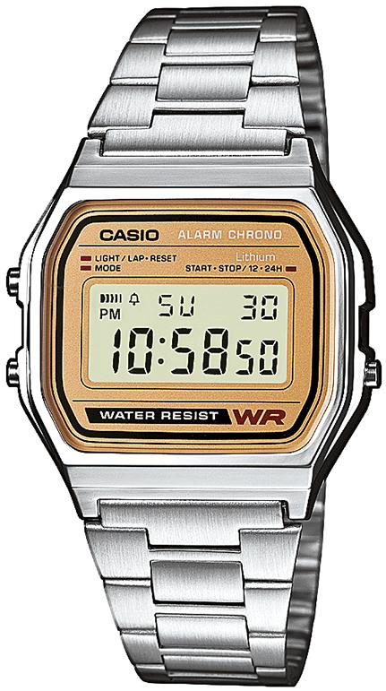 Casio Retro rannekello - Casio miesten rannekellot - A158WEA-9EF - 1 a8f920888a