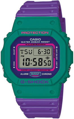 Casio G-Shock Throwback rannekello - Casio miesten rannekellot - DW-5600TB-6ER - 1