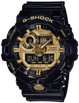 G-Shock Front Button Basic GA-710GB-1AER - G-Shock miesten rannekellot - GA-710GB-1AER - 1